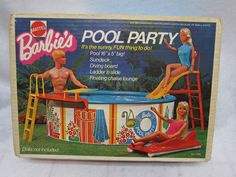 Barbie Pool....used to always play w/this on my parents lawn in the summer.