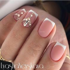 Ideas French Pedicure Designs Bling For 2019 French Pedicure, Pedicure Nail Art, French Tip Nails, French Toes, Glitter Manicure, Nail Manicure, Toe Nails, Nail Designs Bling, Bridal Nails Designs