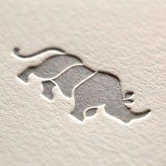 Deboss, paper, logo