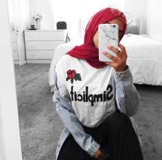 Abaya Fashion, Muslim Fashion, Modest Fashion, Fashion Outfits, Style Fashion, Girl Hijab, Hijab Outfit, Hijab Styles For Party, Outfits For Teens