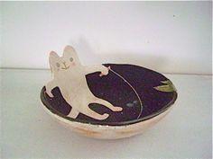 kitty dish #kitty #cat