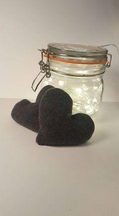 Reusable Hand Warmers.Heart Warmer.Winter Accessorie.Rice Hand Warmers. Set of Two. Made in the UK. Made in Britain.Stocking Filler.Lavender