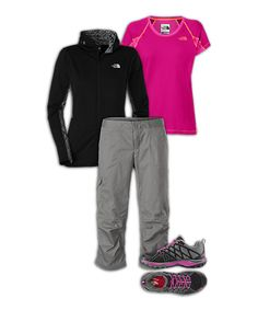 The North FaceR Womens Climbing Outfit