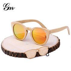 77d601f0ee New Bamboo Sunglasses Men Wooden Sunglasses Women Brand Designer Vintage  Wood Sun Glasses Oculos de sol masculino