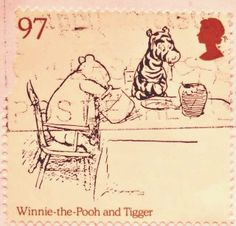 Pooh stamp for Royal Mail 2010