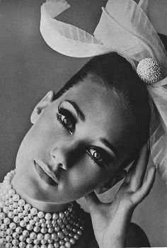 Photographed by Bert Stern 1965 by dovima_is_devine_II, via Flickr - Vintage - Photography - Fashion