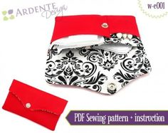 Ardente Design's Personals Pouch - PDF Sewing Pattern | PatternPile.com