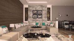 Salon moderne gris – salon marocain moderne – salon marocain design ...