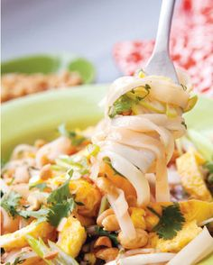 Veggie pad thai recipe from Style At Home