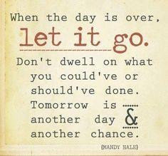 let it go ...
