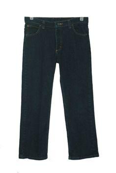 Boys Arizona jeans size 18 slim relaxed fit 100/% cotton medium wash