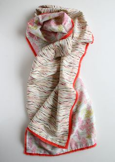 Silk scarf - something to feed one of my many obsessions...