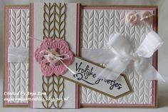 Anja Zom kaartenblog: Twee kaartjes met Designfolder Knitting