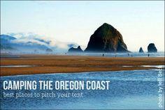 Where to pitch a tent on the Oregon Coast #oregontravel