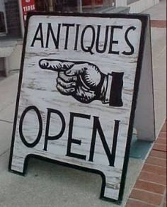 Looking for antiques is one of my favorite pastimes.