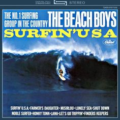 The Beach Boys Surfin' USA on Limited Edition 200g Mono Vinyl LP from Analogue Productions Mastered by Kevin Gray and Pressed at QRP: Analogue Productions Mono Vinyl LP of Beach Boys' Surfin' USA Rest