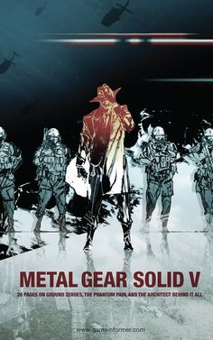Metal Gear Solid V I adore the artwork Kojima Productions choose it's gut wrenching, stunning, and attention grabbing needles to say it describes the series