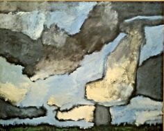1998 LARGE! ABSTRACT LANDSCAPE LAWRENCE SALANDER Sd Infamous Artist/Dealer O/C #ExpressionismAbstract