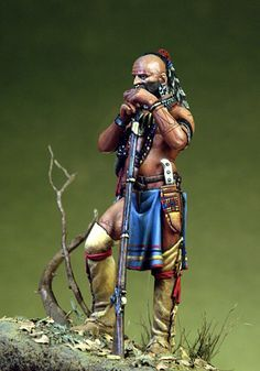 Iroquois warrior
