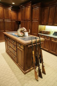 Gun Rooms Traditional Home Offices And Guns On Pinterest