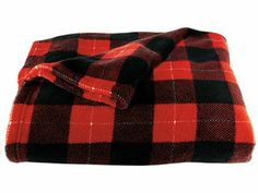 Print Microplush Throw  He can snuggle under this fleecy plaid blanket and curl up in front of the fireplace — or the flat-screen  $12