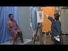 Mary Beth McKenzie: Portrait Painting Demonstration