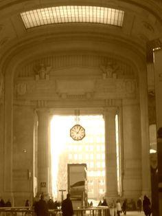 Benjamin Button Clock in Milan