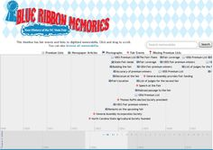 Blue Ribbon Memories is an interactive timeline of State Fair History starting with the founding of the NC Agricultural Society on October 18, 1852. ^cs
