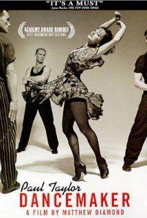 Dancemaker (1998). Dokument obrazujący powstawanie i prace nad tanecznym widowiskiem Piazzolla Caldera, Paula Taylora.