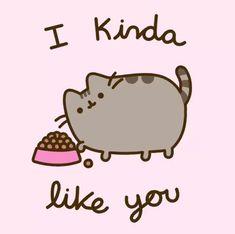 Pusheen Gif, Pusheen Love, Chat Kawaii, Kawaii Cat, Pusheen Stormy, Pusheen Stickers, Cats Tumblr, Pokemon, Cute Cartoon Wallpapers