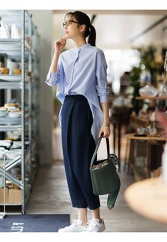 summer casual outfits that make you look fabulous 4 Business Casual Outfits, Casual Summer Outfits, Classy Outfits, Fashionable Outfits, Office Outfits, Stylish Outfits, Casual Chic, Moda Casual, Office Fashion