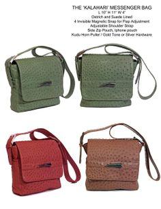 - Swift Leather Kalahari Messenger