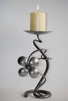 Stylish Flower Candle Holder