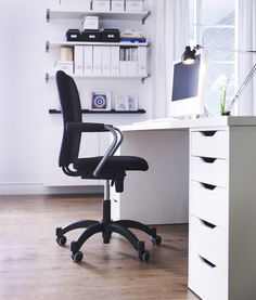 ALEX ladeblok | #IKEA #werkplek #lades #bureaustoel