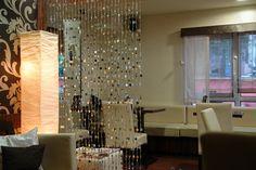 Lépjen be Hévízen a Macchiato Caffe világába! Ceiling, Chandelier, Decor, Curtains, Home, Home Decor, Ceiling Lights