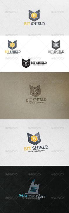 Bit Shield - Logo Template