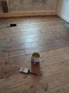 How to Restore Floorboards and keep their character | www.kezzabeth.co.uk