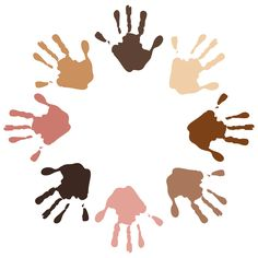 Illustration of a circle of handprints on different colors royalty-free illustration of a circle of handprints on different colors stock vector art & more images of art and craft Equality And Diversity, Racial Equality, Racial Diversity, Cultural Diversity, We Are The World, Color Vector, Grafik Design, Free Vector Art, Illustration