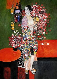 """The Dancer"" - Gustav Klimt"
