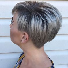 Best Pixie Cut Pixie haircuts are the trendiest one today. That is why we have handpicked photos of Best Pixie Cut 2018 – Pixie Bob Haircut, Short Pixie Haircuts, Pixie Hairstyles, Bob Haircuts, Undercut Pixie, Short Hairstyles For Women, Short Grey Hair, Short Hair Cuts, Short Hair Styles