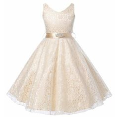 girls party dress kids clothes flower girl dresses for wedding lace children girls elegant birthday dresses teenagers prom gowns Dressy Dresses, Cute Dresses, Girls Dresses, Summer Dresses, Pageant Dresses, Prom Dresses For Kids, Dama Dresses, Dresses 2016, Prom Gowns