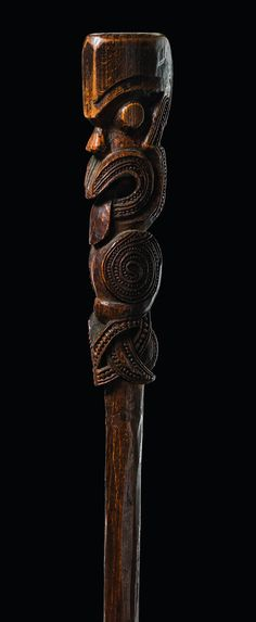 Maori carving, New Zealand Handmade Walking Sticks, Wooden Walking Sticks, Walking Sticks And Canes, Raising Canes, Cane Stick, Nz Art, Maori Art, Bone Carving, Carving Wood