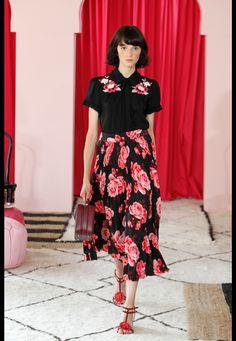 0e20e1cc59 Défilé Kate Spade New York Printemps-été 2017 6 Kate Spade, Vogue Fashion,