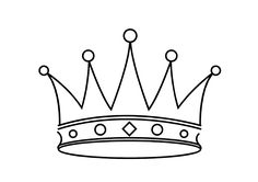 Princess Crown Cake Template Clipart - Free to use Clip Art Resource