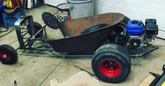 Wheel Barrow go kart rat rod