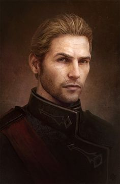 noble man blond hair