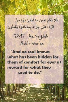 Noble Quran, Learn Quran, Allah Love, Alhamdulillah, Islamic Quotes, True Love, Muslim, Bliss, Paradise