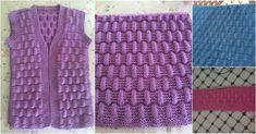 Çok Kolay Kadın ve Bebek Yelek Hırka için Hasır Örgü Modeli Yapılışı Easy Model, Hobby Tools, Baby Knitting Patterns, Leg Warmers, Diy And Crafts, Weaving, Mesh, Origami, Blanket