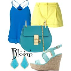 Winx Club Bloom inspired outfit.