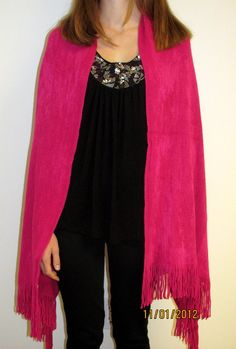 Pink hot pink shawl wrap sale so you can look gorgeous for day and evening wear. A shawl for every season to treasure.